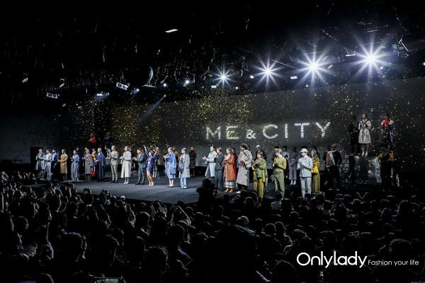 Me&City 2018秋冬大秀模特谢幕